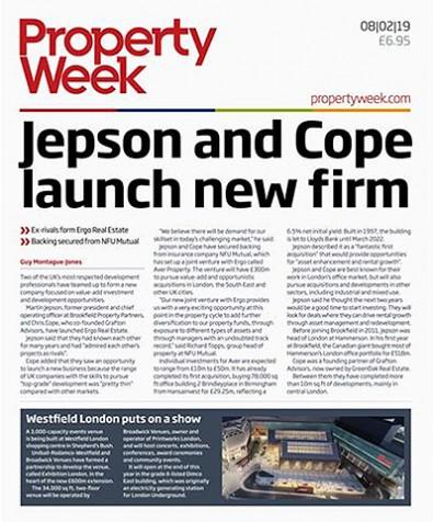 Property Week magazine cover
