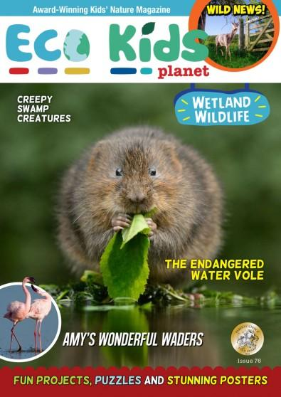 Eco Kids Planet magazine cover