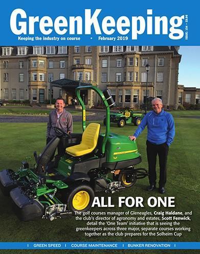 Greenkeeping magazine cover