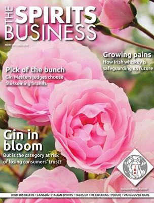 The Spirits Business magazine cover