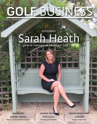 The Golf Business magazine cover