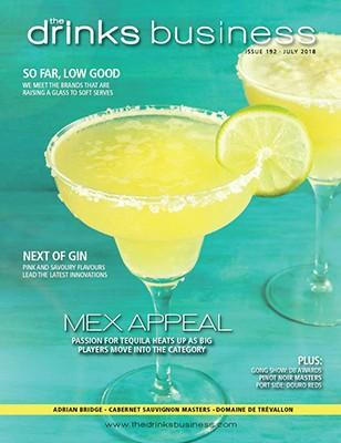 The Drinks Business magazine cover
