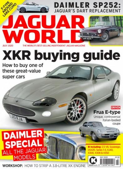 Jaguar World magazine cover