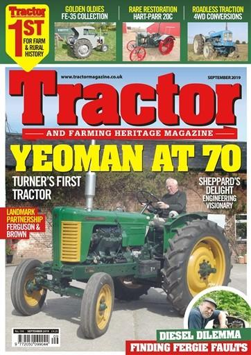 Tractor & Farming Heritage magazine cover