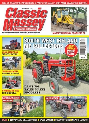 Classic Massey & Ferguson Enthusiast magazine cover