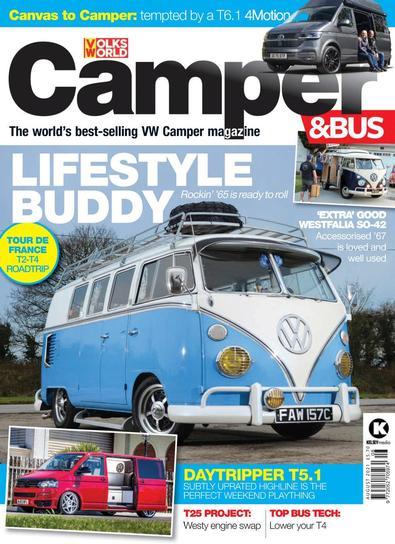 VW Camper & Bus magazine cover