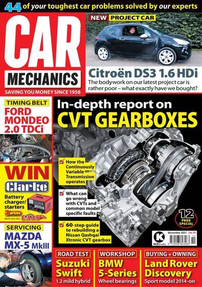 Car Mechanics magazine cover