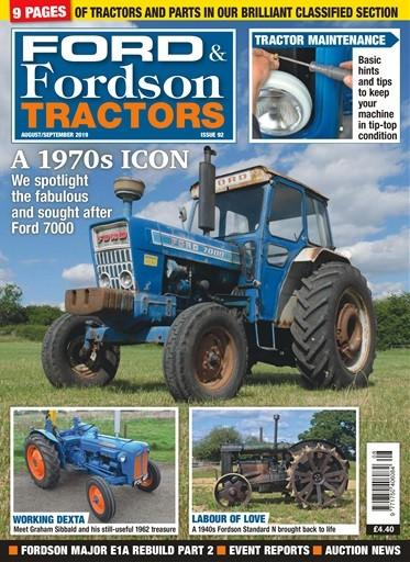 Ford and Fordson Tractors magazine cover