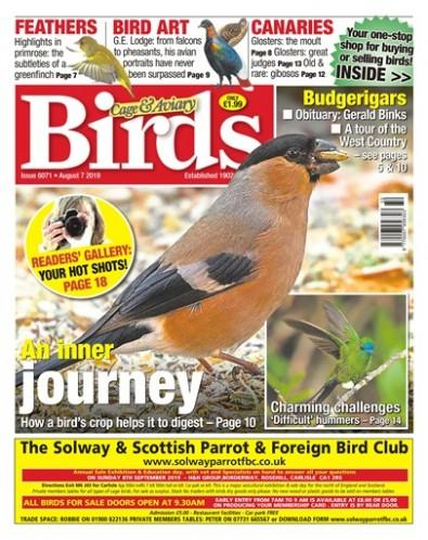 Cage and Aviary Birds magazine cover
