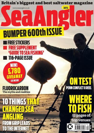 Sea Angler magazine cover