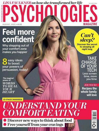 Psychologies magazine cover