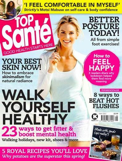 Top Sante magazine cover