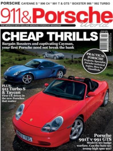 911 and Porche World magazine cover