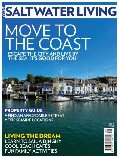 Coast Saltwater Living magazine cover