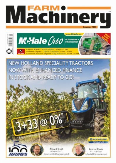 Farm Machinery magazine cover