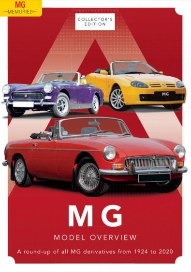 MG Memories magazine cover