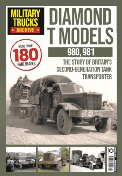 Military Trucks Archive magazine cover