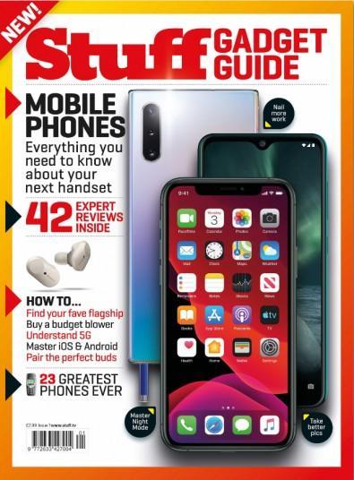 Stuff Gadget Guide magazine cover
