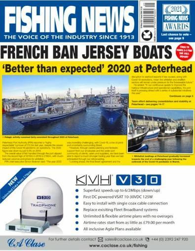 Fishing News magazine cover