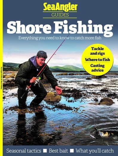 Sea Angler Guides magazine cover