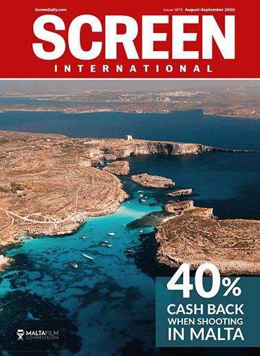 Screen International magazine cover