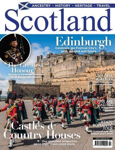 Scotland Magazine cover