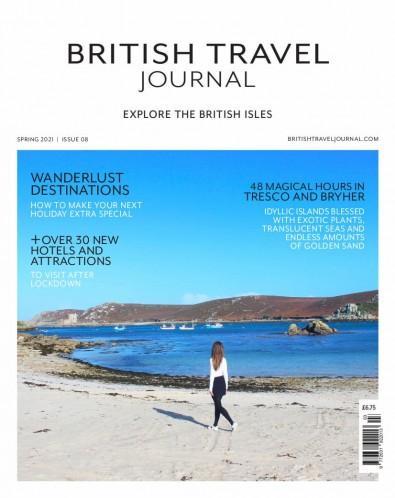 British Travel Journal magazine cover