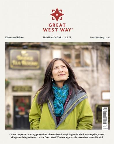 GREAT WEST WAY TRAVEL MAGAZINE cover
