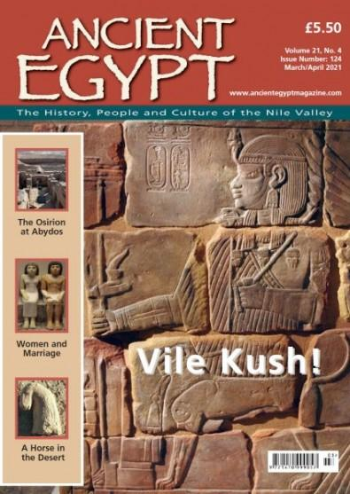 Ancient Egypt Magazine cover