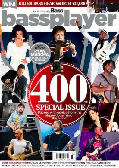Bass Player UK magazine cover