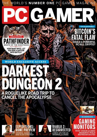PC Gamer magazine cover