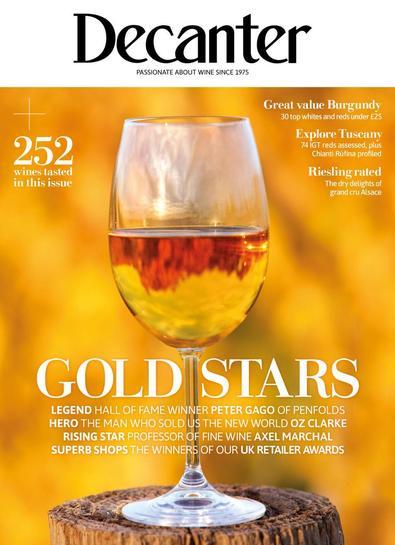 Decanter magazine cover