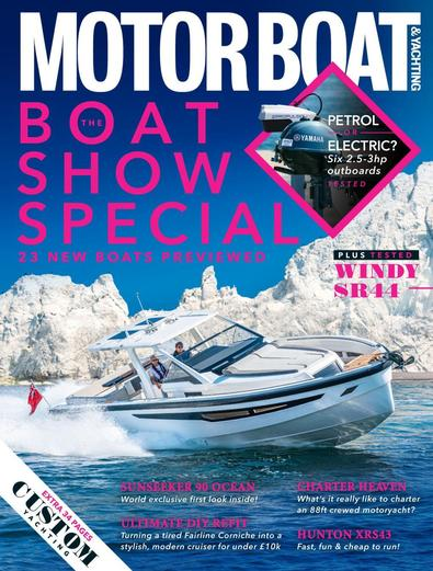 Motor Boat & Yachting magazine cover