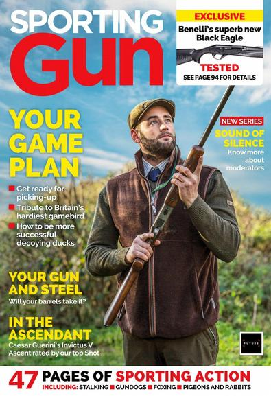 Sporting Gun magazine cover