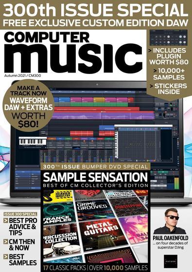 Computer Music magazine cover