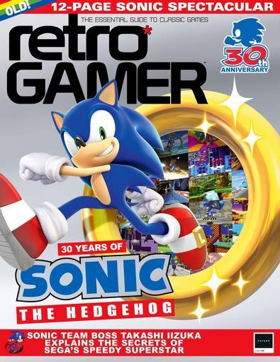Retro Gamer magazine cover