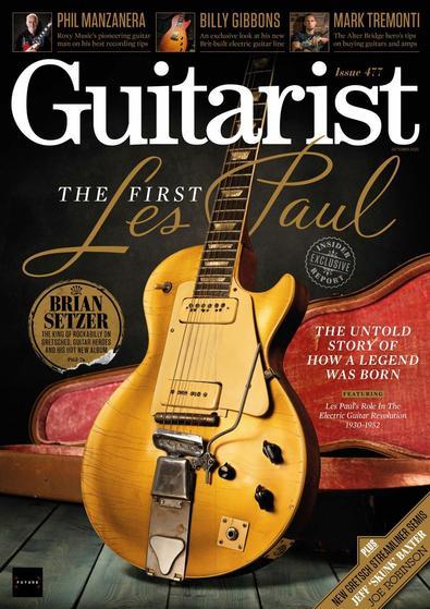 Guitarist magazine cover
