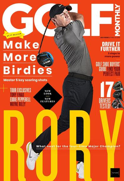 Golf Monthly magazine cover