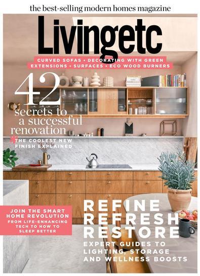 Livingetc magazine cover