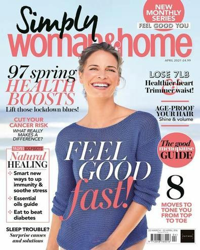 Simply woman&home magazine cover