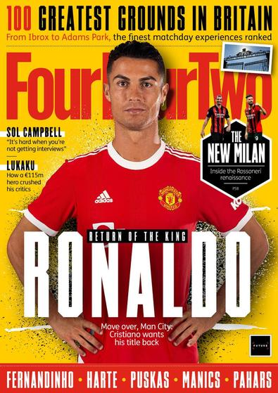 FourFourTwo magazine cover