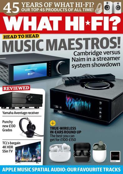 What Hi-Fi magazine cover