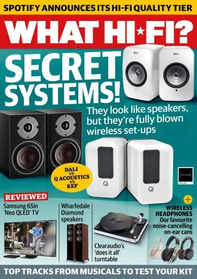 What Hi-Fi magazine cover