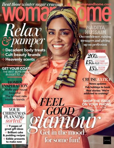 Woman & Home magazine cover