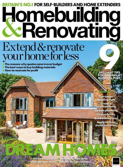 Homebuilding & Renovating magazine cover