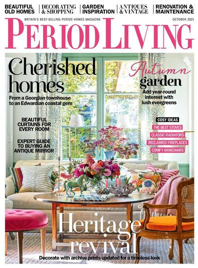 Period Living magazine cover