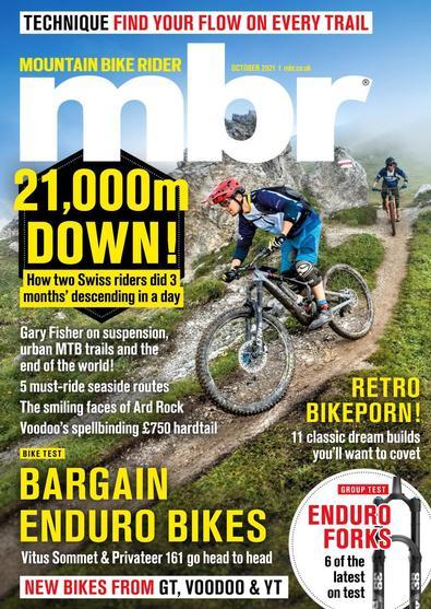 Mountain Bike Rider magazine cover