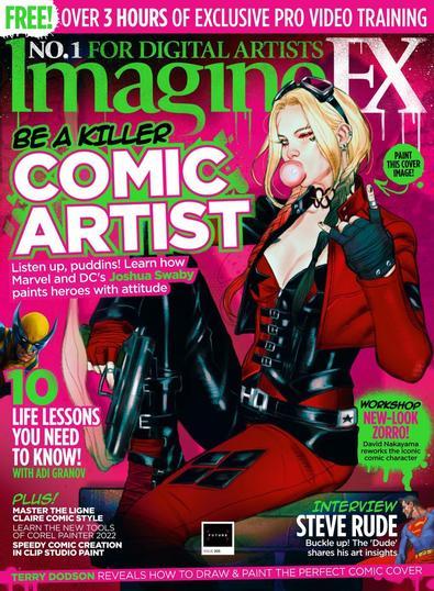 Imagine FX magazine cover