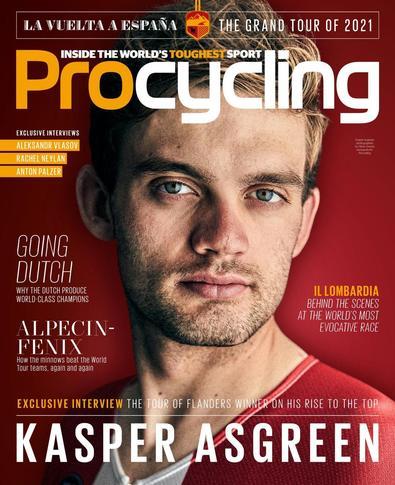 Pro Cycling magazine cover