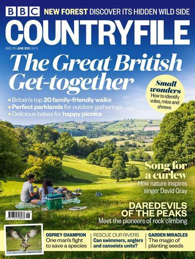 BBC Countryfile magazine cover